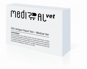 Canine Distemper Virus Antigen Rapid Test - Medizal Vet